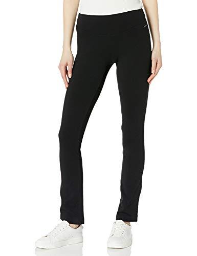 Jockey Women's Skim Fit Long Pant, Deep Black, 1X