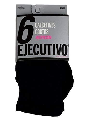 EJECUTIVO Calcetin corto - Negro - única