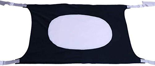 Alittle Cama de bebé Tela de malla elástica transpirable portátil Comodidad para dormir plegable y lavable Hamaca para bebé, 1