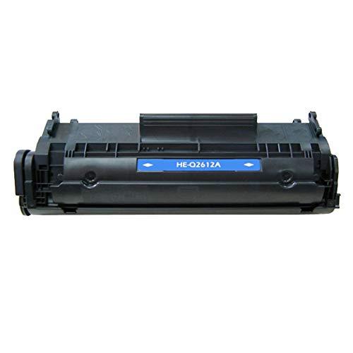 Para cartuchos de tóner compatibles HP Q2612A 12A HP1010 / 1012/1015/1018/1020/1022/3015/3020/3030/3052/3055/3055 / M1300MFP / M1319FMFP / M1005 MFP Cartucho de tinta compatible negro