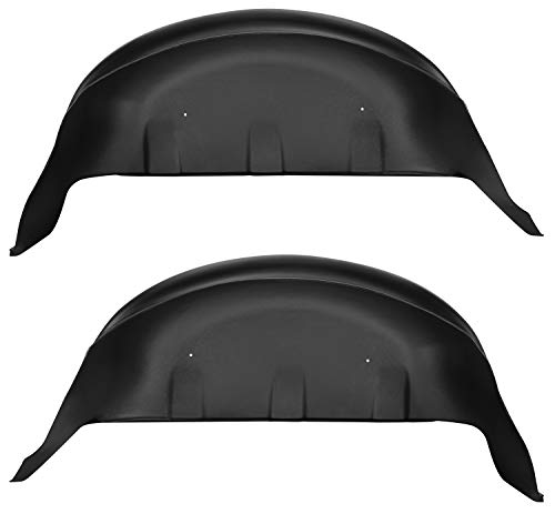 Husky Liners 79131 Fits 2017-20 Ford F-250/F-350 Rear Wheel Well Guards , Black