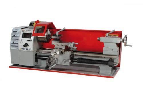 Holzmann ED 400FD | Metall Drehbank | Tisch Drehmaschine | 3 Backenfutter | 230V Profi