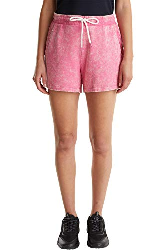 edc by ESPRIT Damen 050CC1C314 Shorts, 660/PINK Fuchsia, M