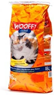 Wooffy Pienso para Gato NG Cocktail 18 kg. Pienso Completo y