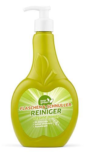 Evergreen Babyflaschen Reiniger, Schnuller Reiniger, Spielzeugreiniger, Baby Bottle Cleaner, Hygienereiniger, vegan, (500 ml)