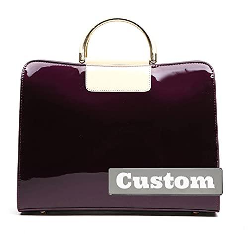 JINTD Borsa personalizzata Borsa da borse per borse da borse per le donne (Color : Shenzi, Size : One size)