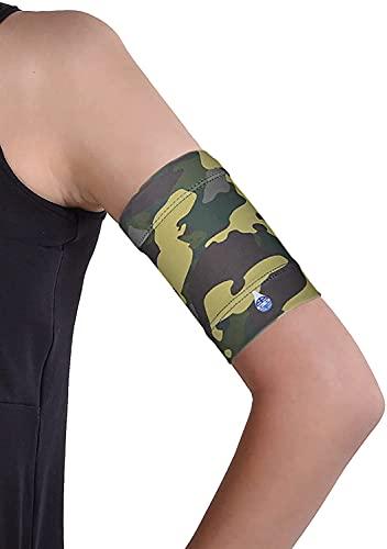 Dia-Band, brazalete de mantenimiento y protección para sensor de glucemia Freestyle Libre, Medtronic, Dexcom o Omnipod – Banda para diabética cómoda y reutilizable.