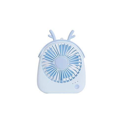 Color Yun Ventilador de refrigeración de Verano de tamaño portátil de Escritorio, Mini Ventilador de Mano eléctrico USB para Regalo de Oficina en casa