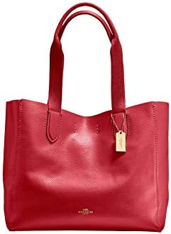 COACH Derby Tote 1 True Red One Size product image