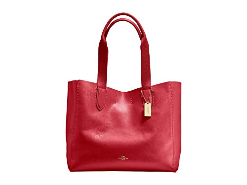 COACH Derby Tote 1 True Red One Size
