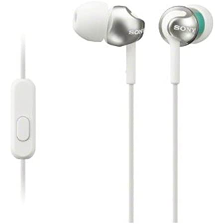 Sony MDR-EX110AP/W EX monitor Headphones