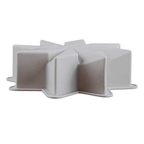 SweetWU - Molde de silicona digital con letras para fondant Lollipop y queso