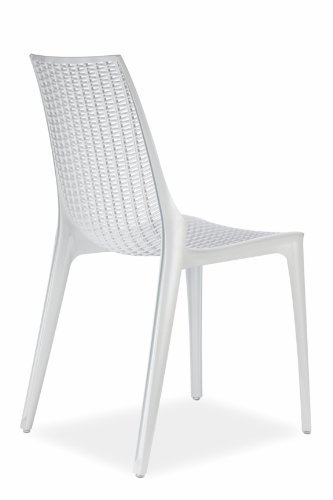 Scab Tricot Chair Blanche