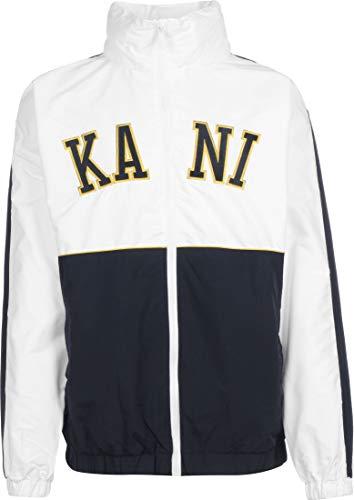 Karl Kani Herren Übergangsjacken Kk College Block Windrunner weiß XL