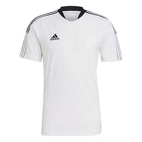 adidas GM7590 TIRO21 TR JSY T-Shirt Mens White L