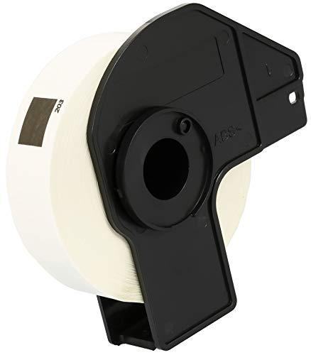 DK11203 17mm x 87mm Ordner-Register-Etiketten (300 Stück/Rolle) kompatibel für Brother P-Touch QL-500 QL-550 QL-560 QL-570 QL-700 QL-710W QL-720NW QL-800 QL-810W QL-820NWB QL-1050 QL-1100 QL-1110NWB