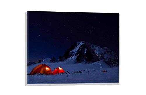 Kunst für Alle Imagen en Vidrio: Ulrik Hasemann Alpine Start, Mural, magnífica impresión de Arte sobre auténtico Vidrio, 60x40 cm