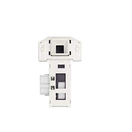 durable Ajuste for lavado Bosch Siemens tambor de la máquina del interruptor de bloqueo de puerta electrónico de retardo de bloqueo de la puerta electrónica WM1095 / WD7125 / WD7005 3 Insertar Wearabl
