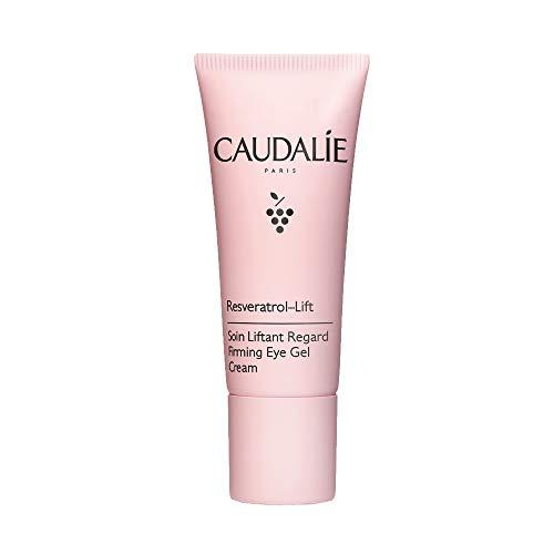 Caudalie Resveratrol-Lift Firming Eye Gel Cream: Anti-Aging Wrinkle Eye Cream with Resveratrol, Hyaluronic Acid & Vegan Collagen Alternative -15mL