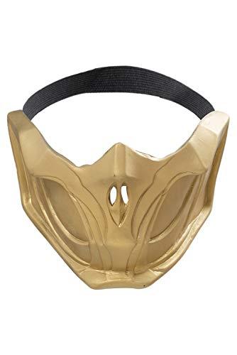 MingoTor Mortal Kombat 11 Scorpion Masque de danse Casque Cosplay