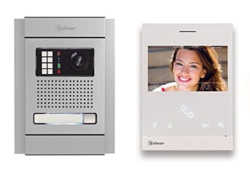 Golmar Videoportero kit de video de 1 línea N5110 ART 4 LITE manos libres 4,3  Tecnología G2+