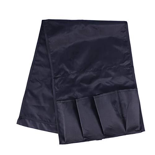 WINOMO - Bolsa de almacenamiento para el reposabrazos, cama de bolsillo para colgar iPhone, iPad, revistas, libros, mando a distancia de TV