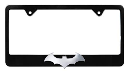 Elektroplate Batman 3D Bat Black License Plate Frame