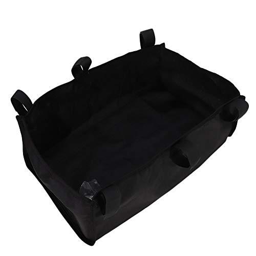Organizador de bolsa de andador ligero portátil con diseño de gancho y bucle duradero, bolso de andador, para andador en silla de ruedas
