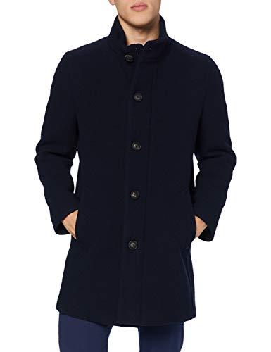 BUGATTI 625533-64049 Cappotto di Lana, Marina, 50 Uomo