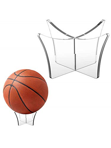 cypressen Acryl Multifunktionsdisplay Bowling Rugby Halterung Basketball Ball Ständer Display Halter Ball Rack Unterstützung Basis Fußball Rugby Display Ständer Fußball Volleyball Bowling Ball