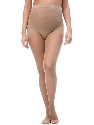 RelaxMaternity 791 (Visone, tg.4) Collant Premaman gravidanza 70 den compressione graduata 12-17 mmHg