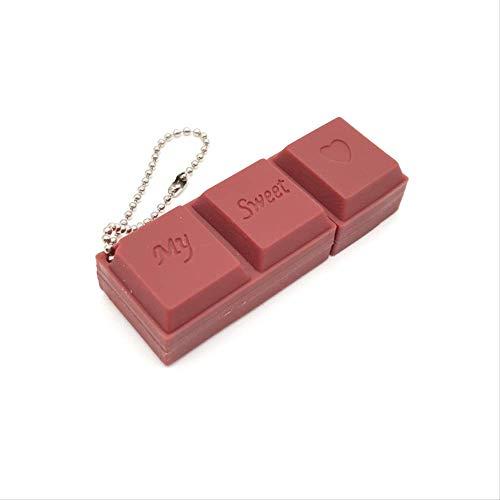 USB flashstations Grote witte konijn chocolade creatieve 32G Oreo vorm meisje schattig persoonlijkheid bruin