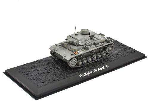 Atlas Edition Ultimate Tank Panzer III AUSF.G Panzer Fertigmodel Maßstab 1:72 Die-Cast Metall