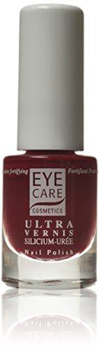 Eye Care Cosmetics Nail Enamel Ultra Silicon Urea Bordeaux, 1er Pack (1 x 5 ml)