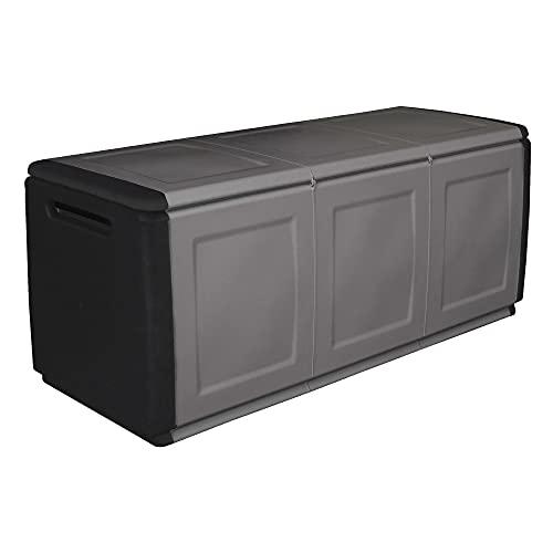 Art Plast CB3/N/S Cube Baule Portatutto, Grigio/Nero