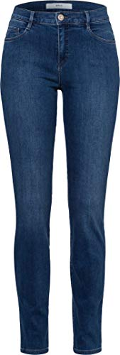 BRAX Damen Style Shakira Free to Move Skinny Jeans, Used Light Blue, 32W / 30L