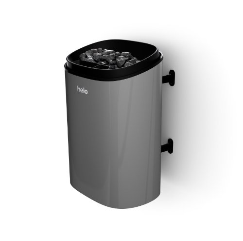 Helo Saunaofen Fonda mit / ohne Steuerung - Modell:8,0 DET grau, Leistung: 8,0 kW, Saunagröße: 8,0-12,0 m³, Steuerung: extern