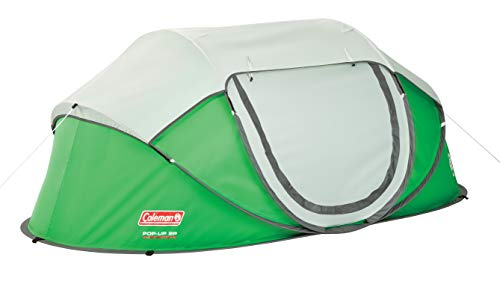 Coleman Fast Pitch Pop Up Zelt Galiano 2, 2 Mann Wurfzelt, Campingzelt 2 Personen, Festivalzelt, wasserdicht WS 2.000mm