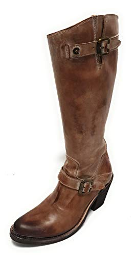 Sancho TR9549 Mask C/.Porcino Damen Boots Cowboy Biker Western Stiefel (42)