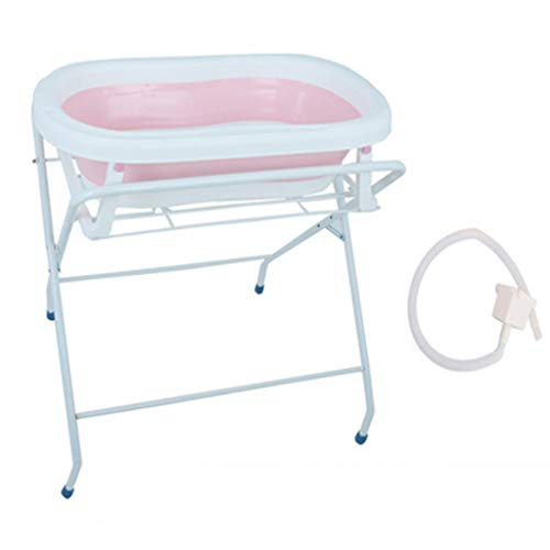 Changing Table Baby Bath Tub Stand Dressing Table Shower Stand Care Table Baby Bathtub Stand Bath Stand Folding Newborn Diaper Table