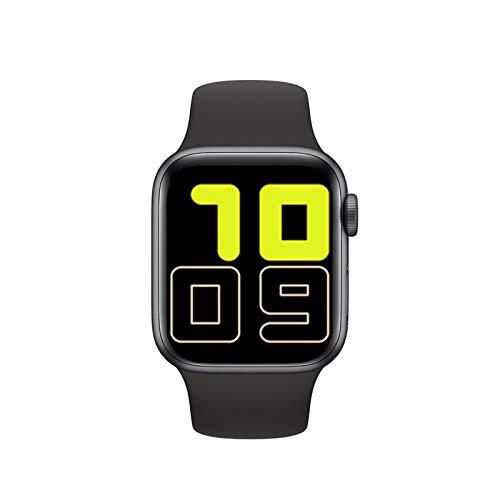 YNLRY Smart Watch Men Women NEW X6 Full Touch Smart Band Bluetooth Call Message Reminder Smartwatch Health Tracker Sport Wristband (Color : Black)