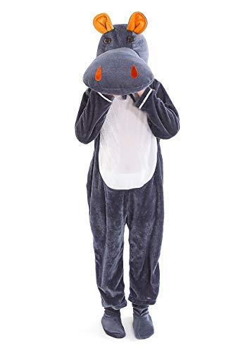 LOLANTA Enfants Animal Costumes pour la Performance Scolaire Carnaval d'halloween avec Couverture de Chaussures