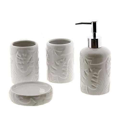 Cuco´S Nest Set de Baño de 4 Piezas de Ceramica Mod. Mariposa...
