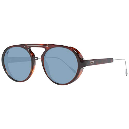TOD'S TO0231 5154D Tods Sonnenbrille TO0231 54D Oval Sonnenbrille 51, Braun