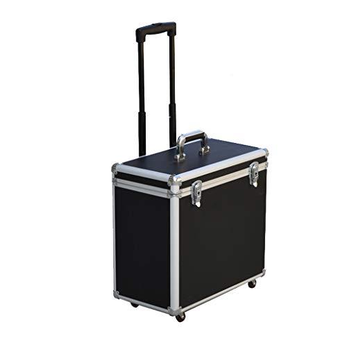 Flightcase Werkzeugkasten Aus Aluminiumlegierung Mit Universalrad-Instrumentenausrüstung Transportkoffer Mit Sicherheitsschloss, Multifunktions-Trolley-Gepäck Aufbewahrungsbox Für Geräte