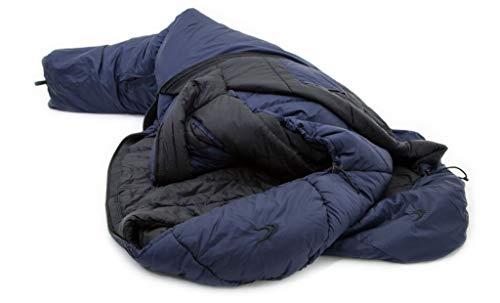 Carinthia TSS Schlafsack L navyblue-Black Ausführung Left Zipper 2021 Quechua Schlafsack