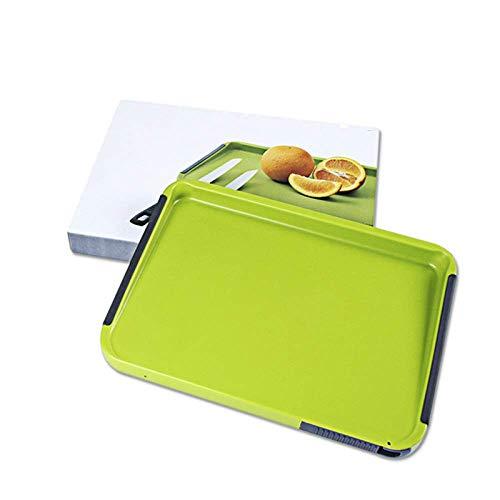 Küche Kunststoff-schneidebrett PE Dicke Schneiden Bord/BPA FREI/Nicht-slip Anti-mehltau/Spülmaschine Sicher (grün/32 × 23,5 × 2,7 CM)