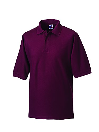 Jerzees - Polo - - Col polo - Manches courtes Homme - Rouge - Bordeaux - Xx-large