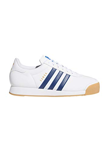 ADIDAS ORIGINALS SAMOA Sneakers hommes Wit/Blauw Lage sneakers