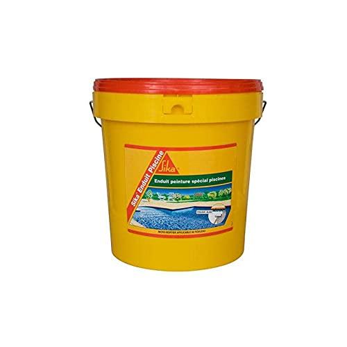 Complément d'imperméabilisation pour piscine SIKA Enduit Piscine - Blanc écume - Kit 18,48kg